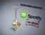 miniature 1 - Portachiavi plexiglass SPOTIFY CANZONE SCANNER SCANSIONE PERSONALIZZATO FOTO