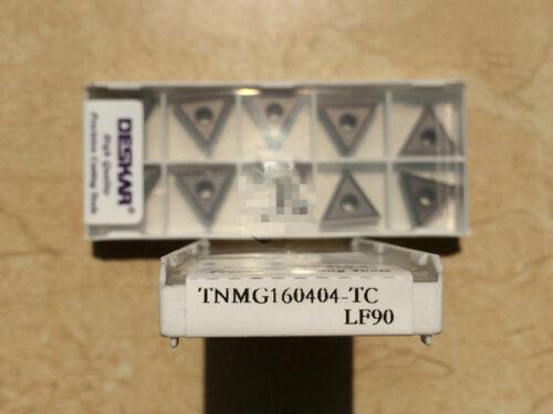 10Pcs New DESKAR CNC blade TNMG160404-TC LF90