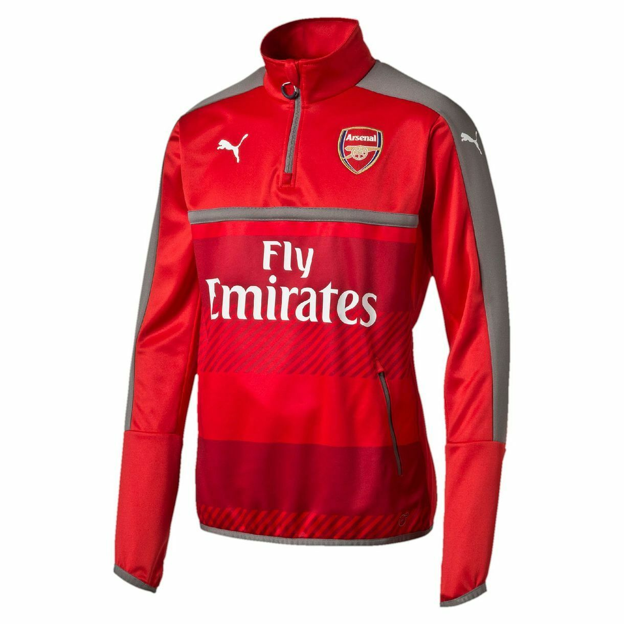 Puma Arsenal FC Official 2016 - 2017 Soccer DryCell Training Top ROT / grau