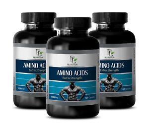 arginine-capsules-AMINO-ACIDS-1000mg-muscle-growth-pills-3-Bottles
