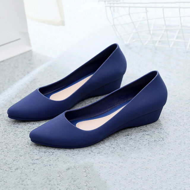 New Womens Suede Boat Shoes Casual Slip On Flats Shoes Loafers Ballet Shoes FIT