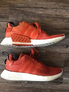 07c8c6c69 Adidas NMD R2 Boost Mens Shoes Size 11.5 BY9915 Harvest Orange ...