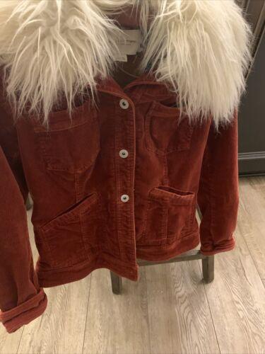 Pilcro Rust Cordoroy Jacket S