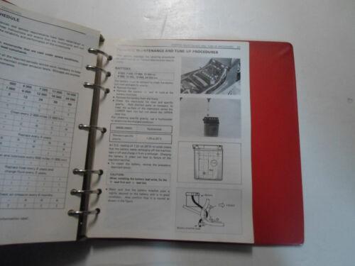 1983 Suzuki TempterGR650 Motorcycle Service Repair Manual BINDER MINOR STAINS 83