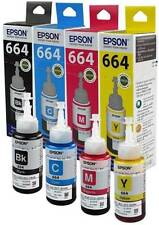 EPSON EPSON 664 L100,L200,L220 Multi Color Ink (Black, Magenta, Cyan, Yellow)