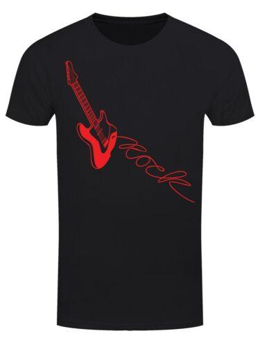 Gitarre Männer T-Shirt schwarz