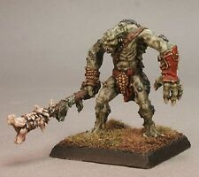 River Troll Reaper Miniatures Warlord Reptus Monster Mace Club Melee RPG