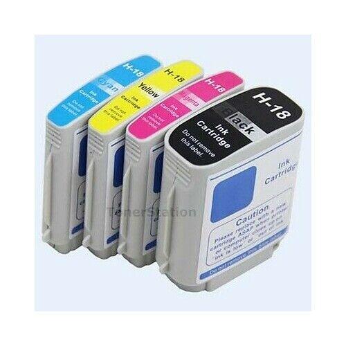 5x Ink Cartridge HP18 18 for Officejet Pro HP K5300 K5400dtn K8600dn L7580 L7380