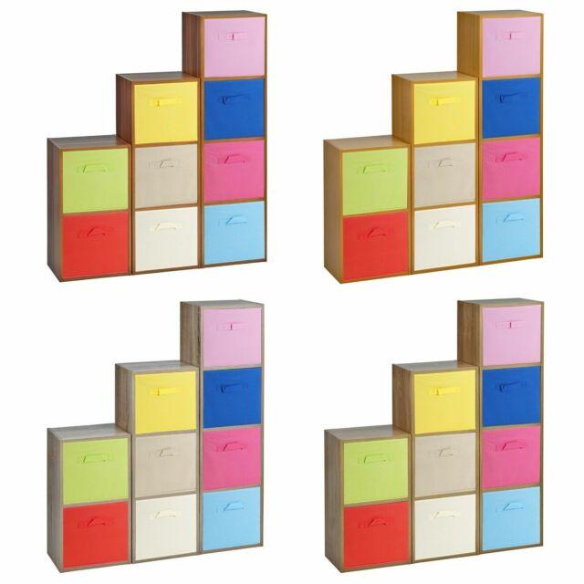 Shelves With Toy Storage Bins