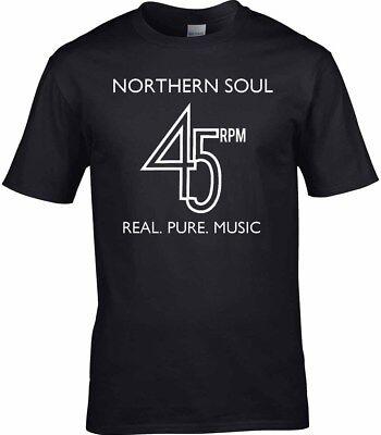 Northern Soul T-Shirt Mens Decks Turntable Vinyl Dance Music Keep The Faith