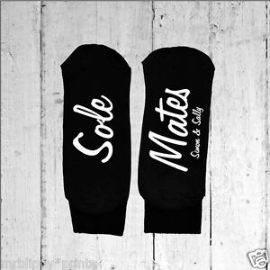 Mens-Personalised-Sole-Mates-Socks-Text-Printed-on-the-Sole-One-size-6-12