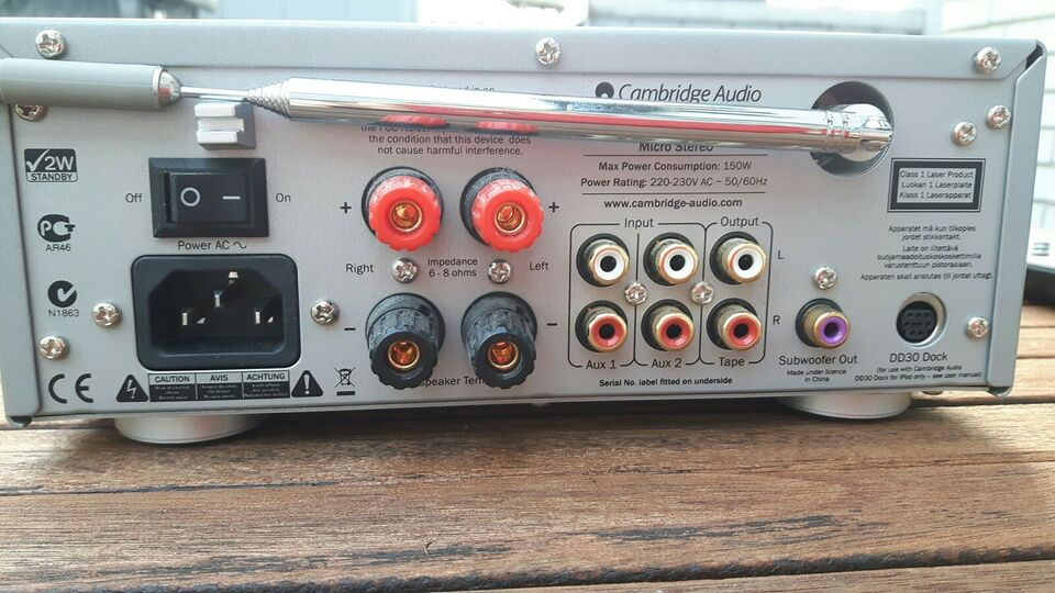Minianlæg , Cambridge Audio, One +