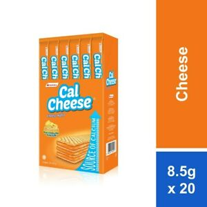 Cal cheese wafer 1pack x 20pcs
