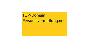 TOP-Domain Personalvermittlung.net