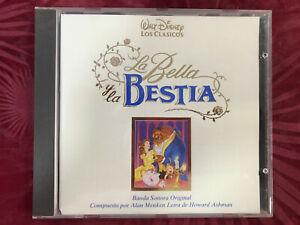 Bso-la-Bella-Y-la-Bete-CD-B-S-O-Walt-Disney-Beauty-And-The-Beast-Alan-Menken