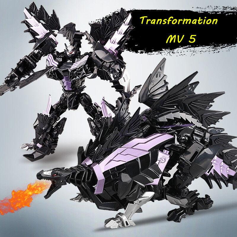 WEIJIANG Dinobots Dark Snarl Stegosaurus Metal Part Robot Car Leader Class