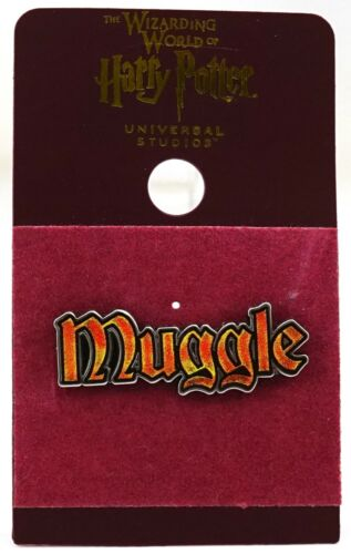 New Universal Studios Parks The Wizarding World Of Harry Potter Muggle Pin