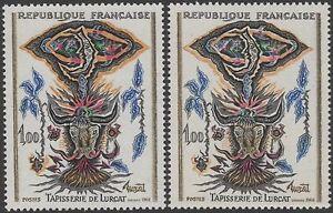 FRANCE-TIMBRE-N-1493-034-TAPISSERIE-LURCAT-VARIETE-COULEUR-034-NEUFS-xx-TTB-K123c