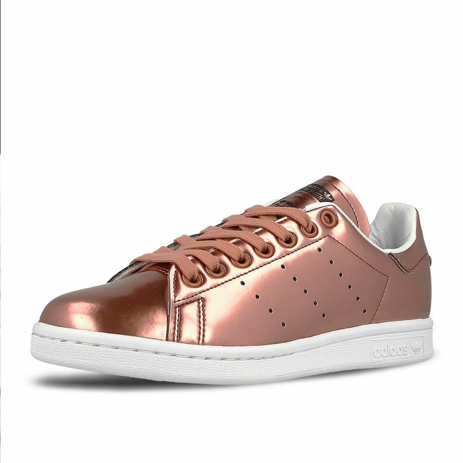 Adidas Originals Stan Smith CG3678 Women's Retro shoes Sneakers Metallic Copper