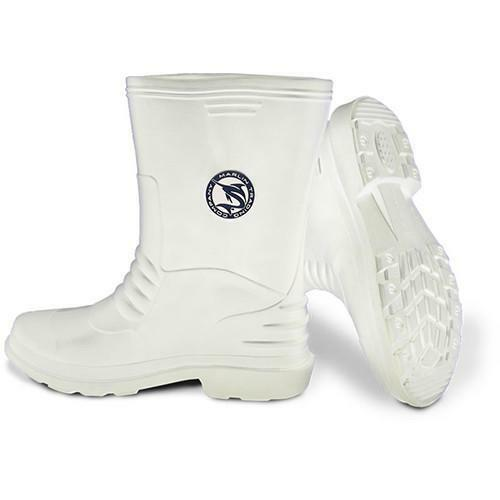 Marlin M688-W-10 White Deck Boots Size 10 16515