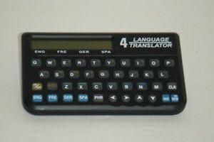 Radio-Shack-4-Language-Translator-English-Spanish-German-French