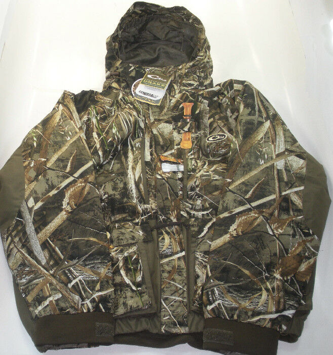 Drake Waterfowl DW2112-015-5 Lst Eqwader Coat Max5 Camo 2-XLarge 17678