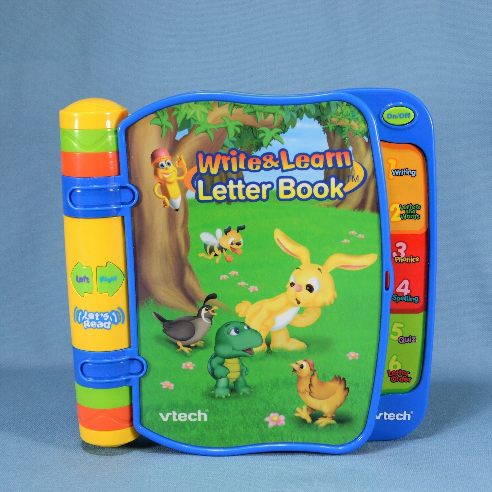 Educational Snapcircuitsjrsc100 Vtech Write And Learn Letter Book Electronic Talking Alphabet Abc Storybook