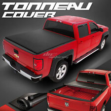 HIDDEN ROLL-UP VINYL TONNO TONNEAU COVER FOR 07-15 TOYOTA TUNDRA 5.5' SHORT BED