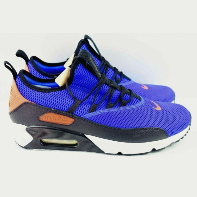 Nike Air Max 90 EZ Racer Mens Size 11.5 Shoes AO1745 400 Blue Crimson White