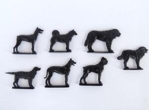Details about Vintage Soviet Russian Children's Black Plastic Toy Dog Breeds For Kids Dogs