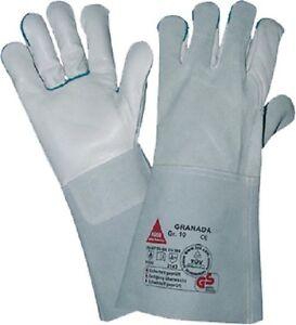 Größe:10 Handschuhe Romantisch Hase Schweißerhandschuh Granada 100335 Arbeitshandschuh