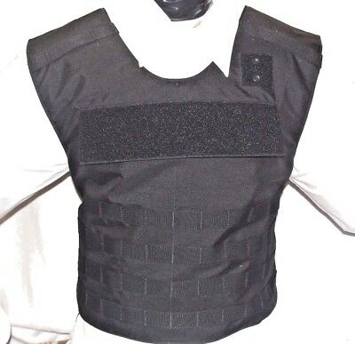 New Medium Tactical Plate Carrier IIIA Body Armor BulletProof Vest with Inserts