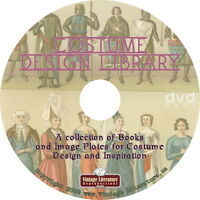 Costume Design Library { Theater Clothing Design & Patterns } On Dvd