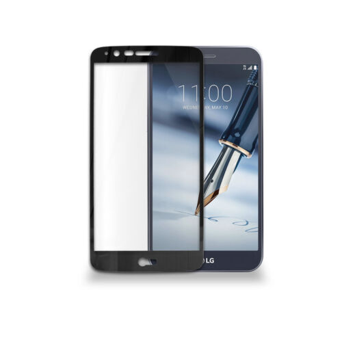 LG Stylo 4 //LG Stylo 4 Plus Full-Fit HD Clear Tempered Glass Screen Protector