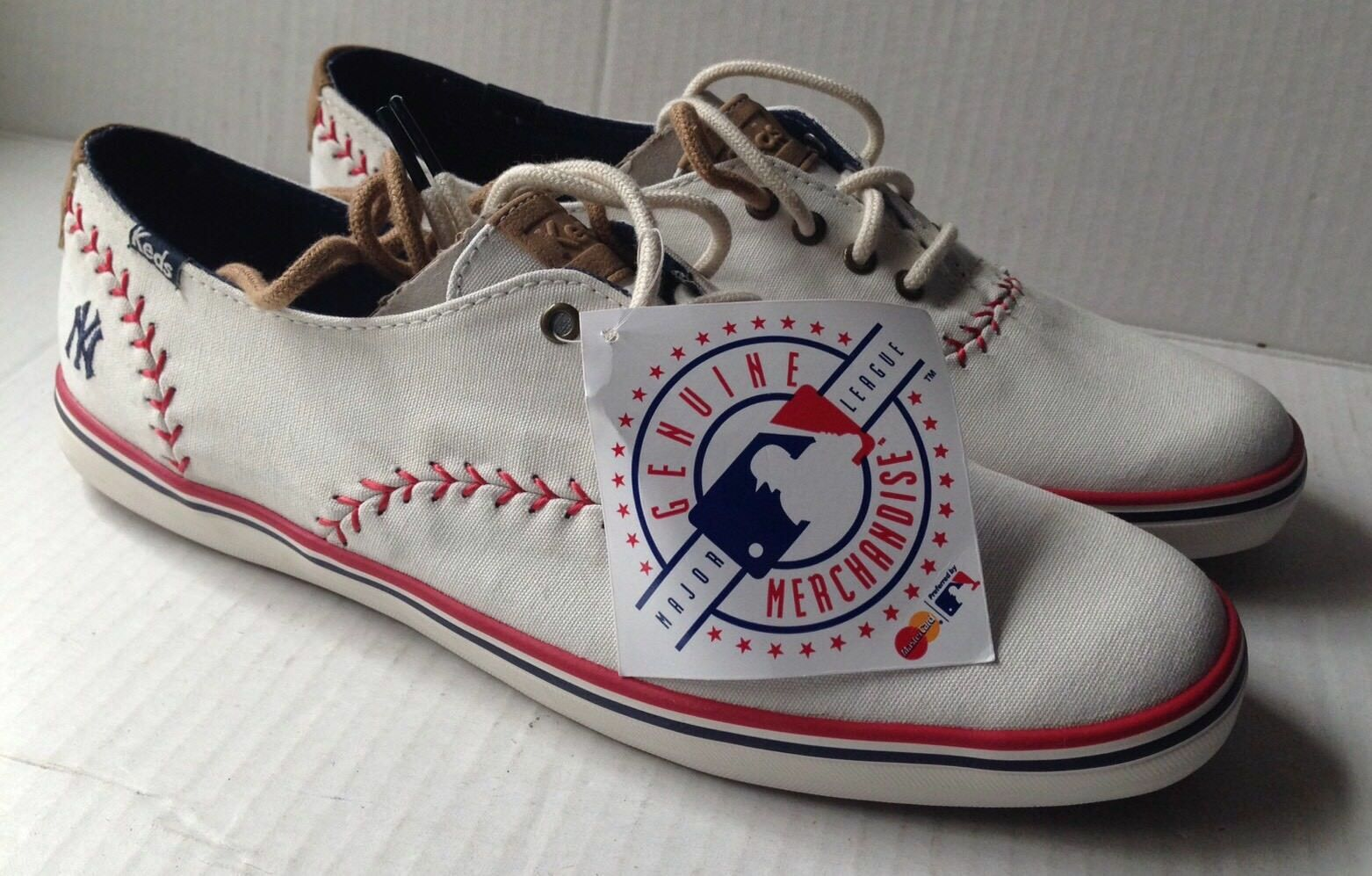 KEDS NEW YORK YANKEES BASEBALL WOMEN'S SHOES, US 9.5, NEW NO BOX