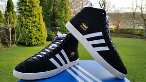 Adidas-Originals-Girls-Womens-Black-Gazelle-OG-Hi-tops-Fashion-Trainers-5-9