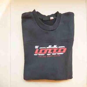 Sweat-sport-noir-Lotto-garcon-taille-11-12-ans