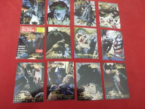 U-Pick Batman Master Series SIGNATURE Cards 3 for $2