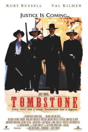 Movie Poster Reprint Classica Movie Prints 1994 Original Tombstone