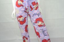 cebb925233a0 Disney Juniors Little Mermaid Ariel Plush Fleece Pajama Pants L