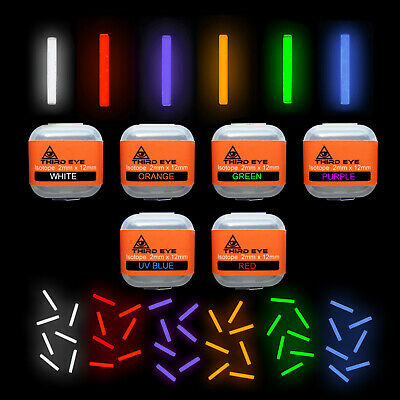 ICEATOPE BETALIGHT ISOTOPES 3 X ICE GREEN Carp Fishing 3mm X 15mm FULL MAX POWER