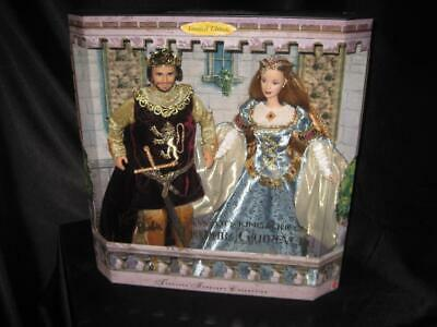 Camelot King Arthur Queen Guinevere Giftset Camelot's King & Queen 23880 Nrfb Cabbage Patch
