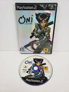 Oni (Sony PlayStation 2, 2001) PS2 Tested