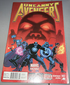 UNCANNY AVENGERS #7 Newsstand Variant 2013 THOR WOLVERINE MARVEL