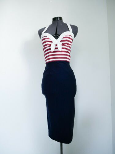 Sailor Pinup Dress by Pinup Couture