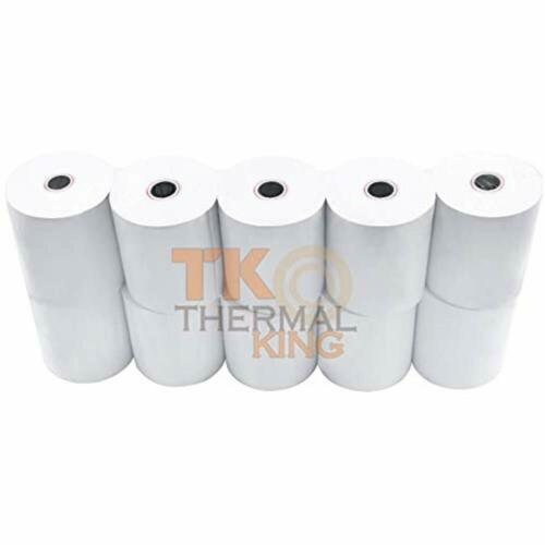 """10 Office Products 3 1//8/"""" X 230/' Point-of-Sale Paper Rolls Thermal King"""