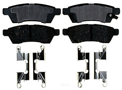 ACDelco 17D999CH Professional Ceramic Rear Disc Brake Pad Set