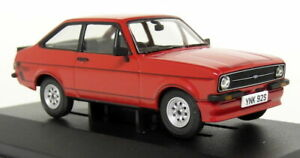 Vanguards-1-43-Scale-VA12615-Ford-Escort-Mk2-RS-Mexico-Signal-Red-Diecast-Car