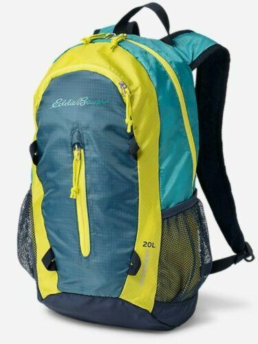 NEW Eddie Bauer 20L Stowaway Packable Daypack Back Pack NORDIC BLUE