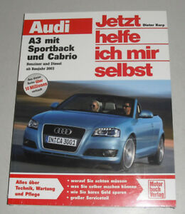 Cabrio Benzin Diesel Ab 2003 Neu Reparaturanleitung Audi A3 Mit Sportback 8p